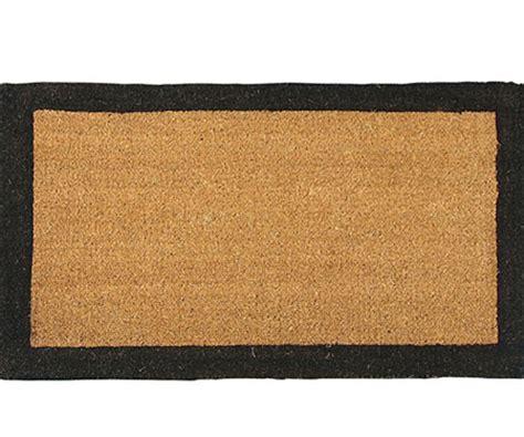 Black Coir Doormat black border regular coir doormat doormats large and