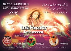 Leila Forouhar Live In Concert - PersianEvents