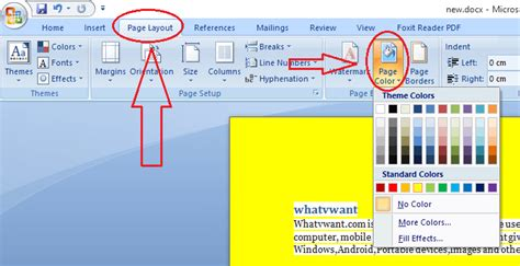 change color in picture how to change word document background color whatvwant