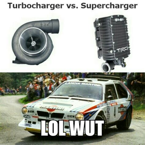 Turbo Car Memes - turbo vs supercharger why not both
