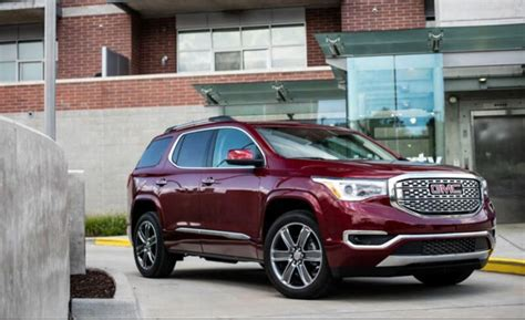 Gmc Acadia 2020 Dimensions by 2020 Gmc Acadia Denali Refresh Review Price Specs