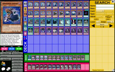 bujin deck july 2017 this is ghostrick deck profile for