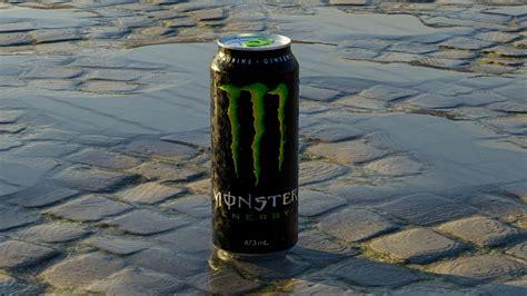 Monster Energy - 3d monster can | CGTrader