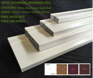 Upvc Window Sill Profiles by Upvc External Window Cill Door Cill 4 Sizes 3 Colours