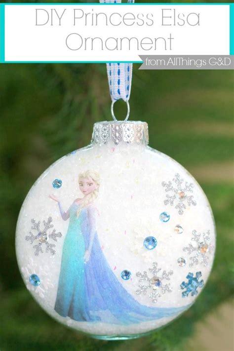 frozen ornaments ideas  pinterest frozen