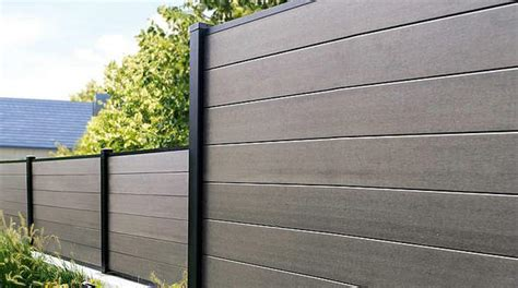 composite wood fencing products wpc fence fencetastic