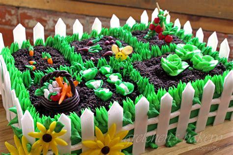 Garden Decoration For Cake by Vegetable Garden Cake Gretchen S Vegan Bakery