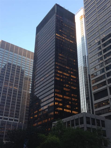 seagram building  york  architect