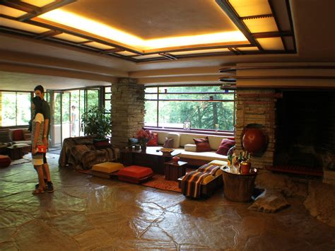 falling water house interior www imgkid com the image