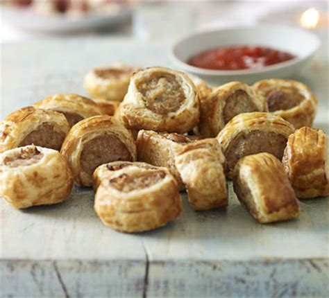 mini sausage rolls bbc good food