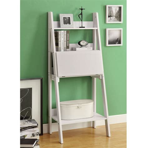 Ikea Clock Bookcase by Ladder Desk Ikea Simple Solution For Workstation As Well