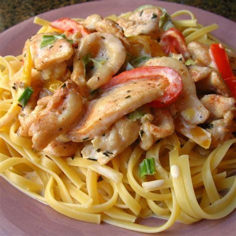 pasta reciped cajun style chicken pasta recipe all recipes uk