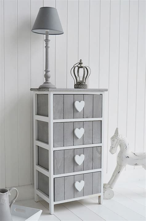 and white bedroom furniture grey and white furniture cottage drawers large