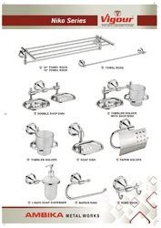 bathroom fittings niko series towel rack towel rod