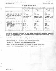 John Deere 112 Lawn And Garden Tractor Service Repair Manual