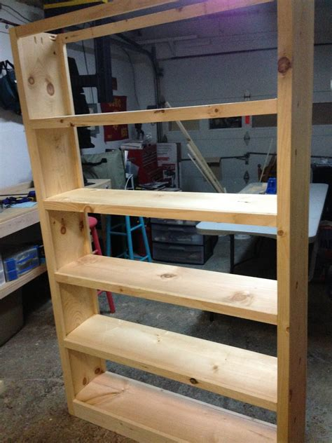 How To Build A 5 Shelf Bookcase by Wood N Things 6 Foot Book