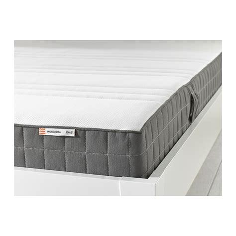 morgedal latex mattress medium firmdark grey  cm
