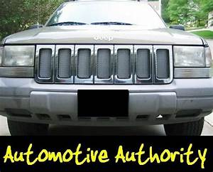Chrome Mesh Grille Grill Kit For Jeep Grand Cherokee 96 97 98 1996 1997 1998