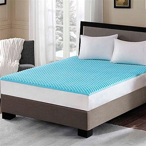 memory foam mattress topper xl buy sleep philosophy flexapedic 1 5 inch gel memory foam