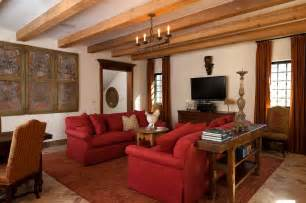 decorating living room with red sofa modern house