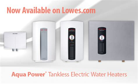 aquapower tankless electric water heaters usa canada