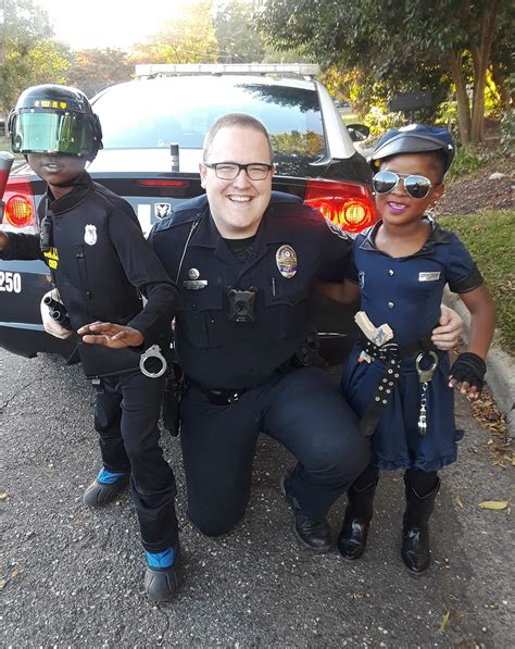 Cute alert: Gastonia Police officer poses for Halloween ...