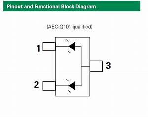 Sm Series 400w Tvs Diode Array Block Diagram