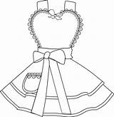 Apron Clipart Coloring Own Drawing Aprons Pdf Instant Digital Webstockreview Diner Getdrawings Salvo sketch template