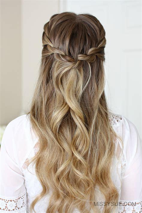 easy rope braid hairstyles missy sue