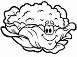 Cauliflower Coloring Pages Mrs Smiling Drawing Nice Getdrawings Stpetefest sketch template
