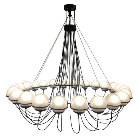 gino sarfatti chandelier large 24 light chandelier by gino sarfatti for arteluce at
