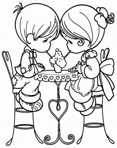 Amor Dia Colorear Amistad Dibujos Imagenes