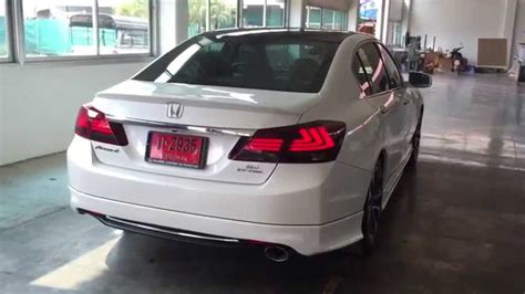 tail lamp accord  style ls review youtube