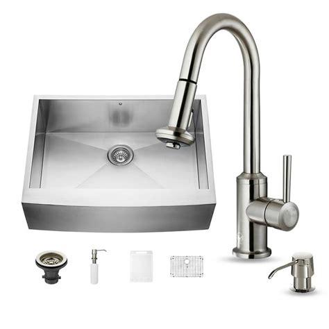 30 x 22 kitchen sink shop vigo 30 0 in x 22 25 in single basin stainless steel