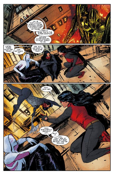 preview spider woman alpha  comic vine
