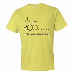 Thc Molecular Structure Diagram
