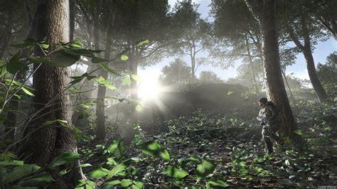Battlefield 4 солдат в лесу  обои для рабочего стола