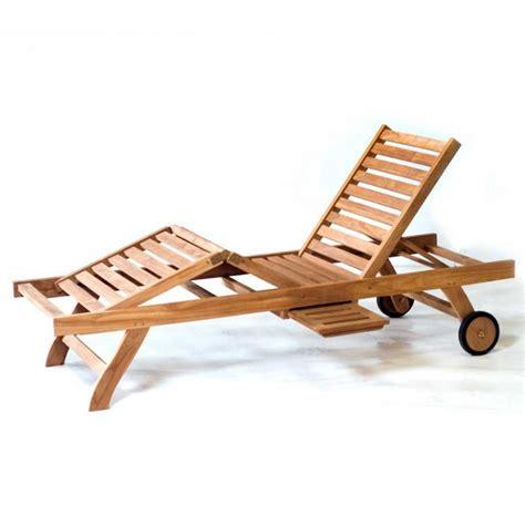 chaise bain de soleil transat bain de soleil en teck pas cher chaise longue