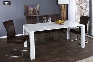 Hochglanz Tisch Weiß : esstisch wei hochglanz konferenztisch tisch wei l nge 180 260 cm ~ Frokenaadalensverden.com Haus und Dekorationen