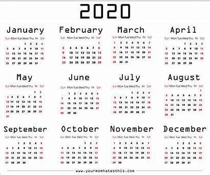 Calendar Transparent Calendars Month Months Pdf Templates