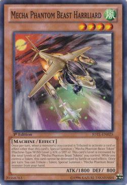 mecha phantom beast harrliard yugioh card judgment of