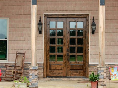 Doors :  Outstanding Narrow Exterior French Doors Custom