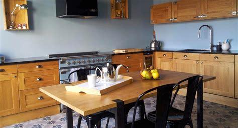 transformer cuisine rustique cuisine moderne une cuisine moderne et rustique à la fois mission