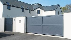 quel portail choisir pour decorer sa maison blog With lovely amenagement exterieur maison moderne 0 quel portail choisir