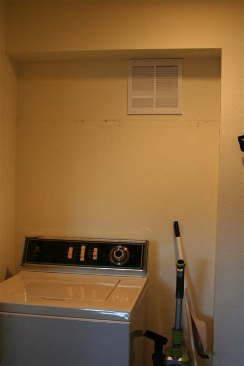 wire shelf washer and dryer remodelaholic small laundry room makeover