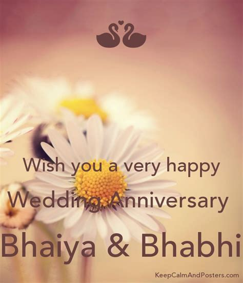 happy wedding anniversary bhaiya bhabhi