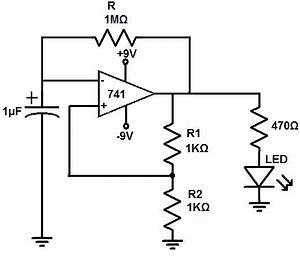 how to build an astable multivibrator circuit with an With opamp multivibrator