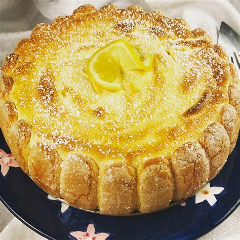 Ladyfinger Lemon Torte Recipe #SundaySupper - Positively ...