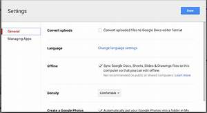 how to use google docs or drive offline on pc mobile With google docs enable offline editing