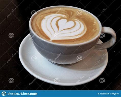 Uploaded at april 25, 2019. Coffee Latte Art Heart Shape Stock Image - Image of plate, latte: 162673775